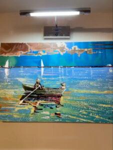 Fishing Bay Painting