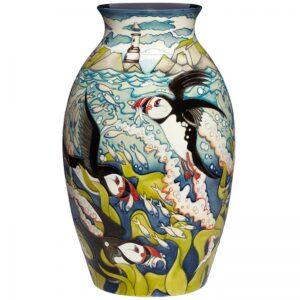 Skomer Island Vase