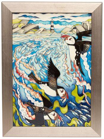 Skomer Island Plaque