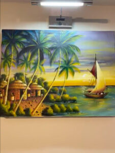 Sailing Home Painting