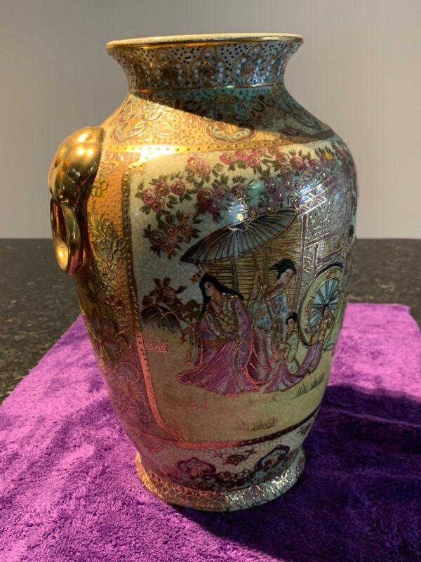 large satsuma vase