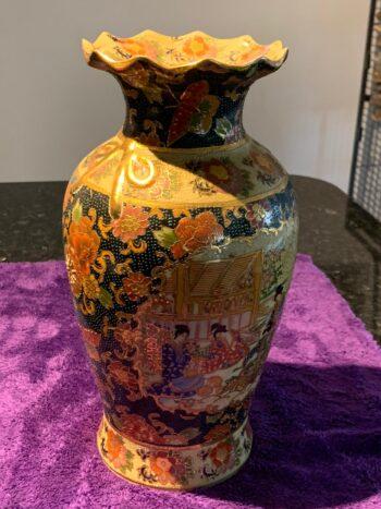 satsuma gilt vase